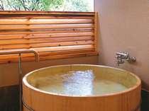 コテージ露天風呂(一例)*浴槽タイプはお選びいただけません。