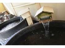 1人で温泉を満喫!!陶器製のお風呂