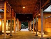 静かな佇まいの熊野古道の温泉宿