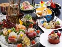 熊野灘会席:11月~3月は伊勢海老をお造りでご提供しております。