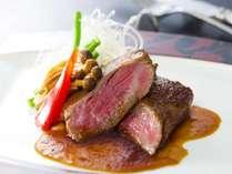熊野牛ロースのステーキ※イメージ ※焼き加減はミディアムになります