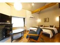 【フォレストコテージ】リニューアル客室は6室だけの特別な空間※一例