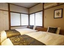 【フォレストコテージ】リニューアル客室 ベッドルーム ※一例