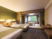 【スタンダード和洋室】和洋室はベッドを新調し、全体的にリフォームを行いました。