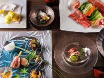 【もりの風茶寮・2017年夏】北海道と山口県をテーマとした和食会席をお楽しみ下さい。