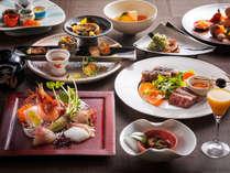 【もりの風茶寮・2018年春】北海道と宮崎県の名物料理を会席仕立てでご用意致します。
