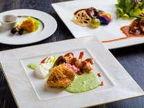 【ZEN・2018年秋】彩り華やかなお料理をお楽しみ下さい。