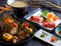 【もりの風茶寮】秋食材をふんだんに。(画像は2018年秋メニュー)