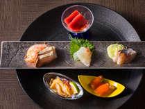【もりの風茶寮・2019年冬】北海道と新潟県産の刺身食べ比べ。