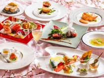 【ZEN・2019年春】フレンチとイタリアンが融合したコース料理。お造りもお楽しみ頂けます。