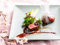 【ZEN・2019年春】お料理は年に4回変わります。旬の味覚をお楽しみ下さい。