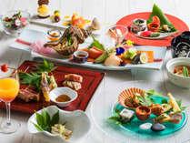 【もりの風茶寮・2019夏】今回は北海道と愛媛県の名物料理を会席仕立てでご用意致します。