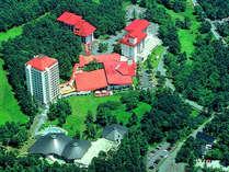 【ホテルヴィレッジ】豊かな森に囲まれ、温泉と自然豊かなリゾートホテルです。