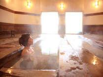 【わたの湯】予約制の時間帯以外は、男女交代制でわたの湯源泉をお楽しみいただけます。