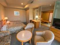 【シャトー館客室一例】和洋室タイプ46平米