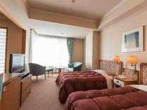 【ウイング館和洋室タイプ一例】2403号室洋室部分・46平米