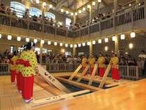 【草津温泉・熱乃湯】湯もみと踊りのショー、湯もみ体験が開催されます。