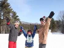 【冬の魅力】スキーやスノボー、そりや雪遊びなど、冬の草津も楽しみ方がたくさん♪