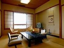 【松風亭和室10畳】  純和室(新館) 和室でゆっくりおくつろぎいただけます