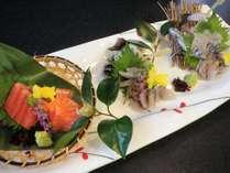 【海なし県でうまい川魚を♪】会席風料理+川魚3種 食べ比べ付き☆やまめ・いわな・やしおます♪