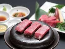 料理一例:とちぎ和牛石焼ステーキ じゅわっと旨みたっぷりのお肉をお楽しみいただけます