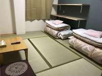 2016年10月新築の中央禁煙館富士、和室6畳のお部屋です。