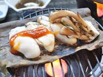 【ご夕食の一例】季節や旬に合わせて一番美味しい食べ方でご提供いたします。(牡蠣のたまり焼き)