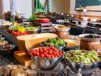 【ポモドーロ】朝食ブッフェ 品数は約120種類をご用意!