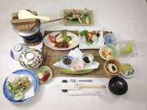秘湯の一軒宿♪おススメ!山里料理と季節の川魚★梅コース