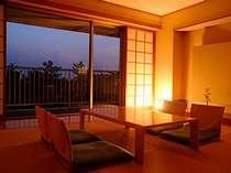 シンプルかつモダンな琉球畳の和室