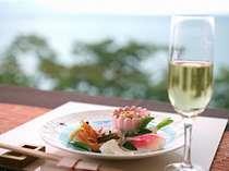 島の旬菜を使ったお料理一例(イメージ)