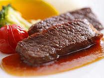 柔らかく芳醇な淡路牛のステーキ (イメージ)