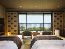 2015年7月 【和みフロア】に新客室が開業。さらにゲスト専用ラウンジもオープンしました。
