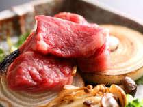 淡路牛の陶板焼き 茸と淡路玉葱(料理イメージ)