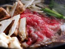 深いコクとまろやかな味わいの淡路牛のすき焼き(イメージ)
