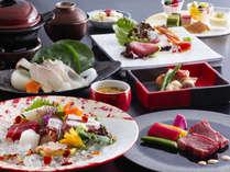 紅葉鯛と淡路牛ステーキを味わう創作料理(イメージ)