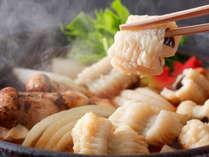 錦秋鱧と松茸のすき焼き風(料理イメージ)