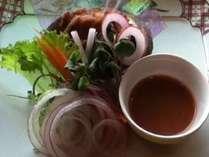 マタニティープラン専用メニュー「鮑味噌蒸し」※あわび料理付(献立一例)