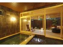 【貸切風呂:一乃湯】豊富な温泉ときれいな空気で内側からきれいに♪