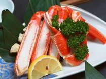 ■酢物「ずわい蟹半身」