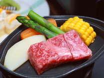 ■焼物「島根和牛陶板ステーキ」