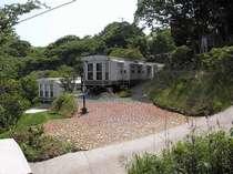 緑水苑宿泊トレーラー