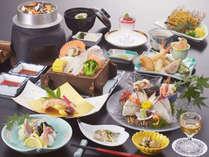 【伊予路会席】美味しくリーズナブルに♪新鮮魚貝と季節野菜が主役の旬会席!