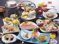 【石鎚会席】豪華お造り付き★伊予牛・鯛・旬の味覚会席でおもてなし…