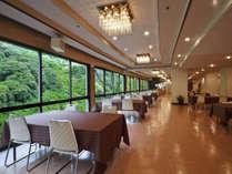 会席料理の専用お食事会場『瀬戸の間』 ※会場は変更になる場合もございます。