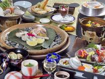 お野菜&魚貝に愛媛産の料理を盛り込んだ『瀬戸内会席』(※イメージ)