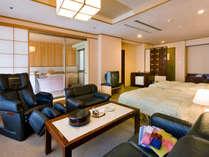 【5大特典付★お年玉プラン】お部屋は露天風呂付き客室!源泉かけ流し温泉で楽しく新年を過ごそう♪