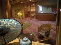 ご宿泊の70%が女性のお客様、こだわりの館内は女性好みで喜ばれております..