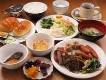 【ご朝食】 和洋食バイキング
