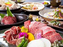 【夕食】豊後牛をはじめ素材の旨みと大地の恵みを食す